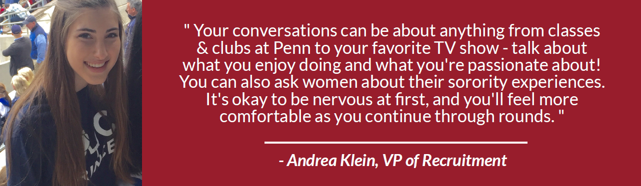 Quote from Andrea Klein