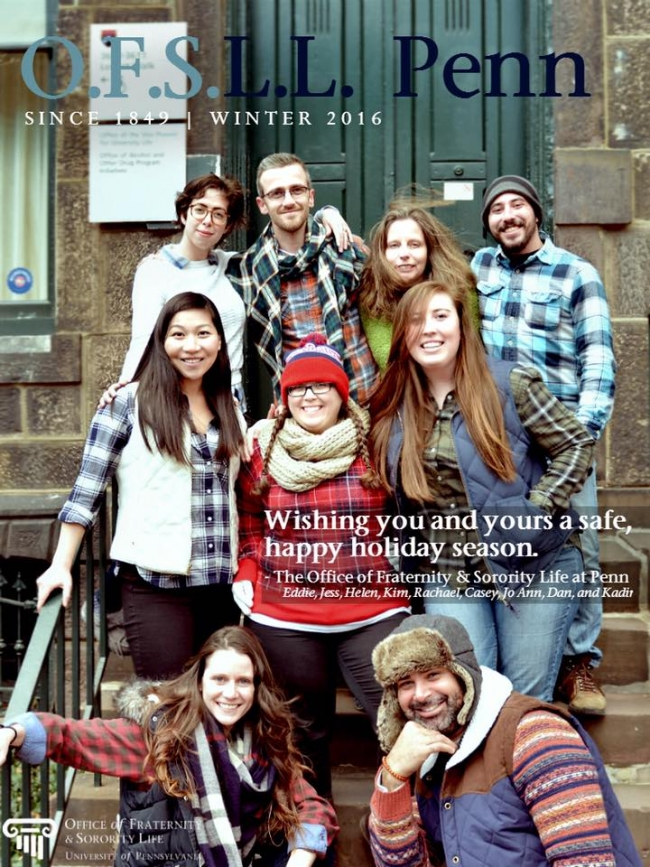 OFSL Holiday Card 2016 - L.L. Penn