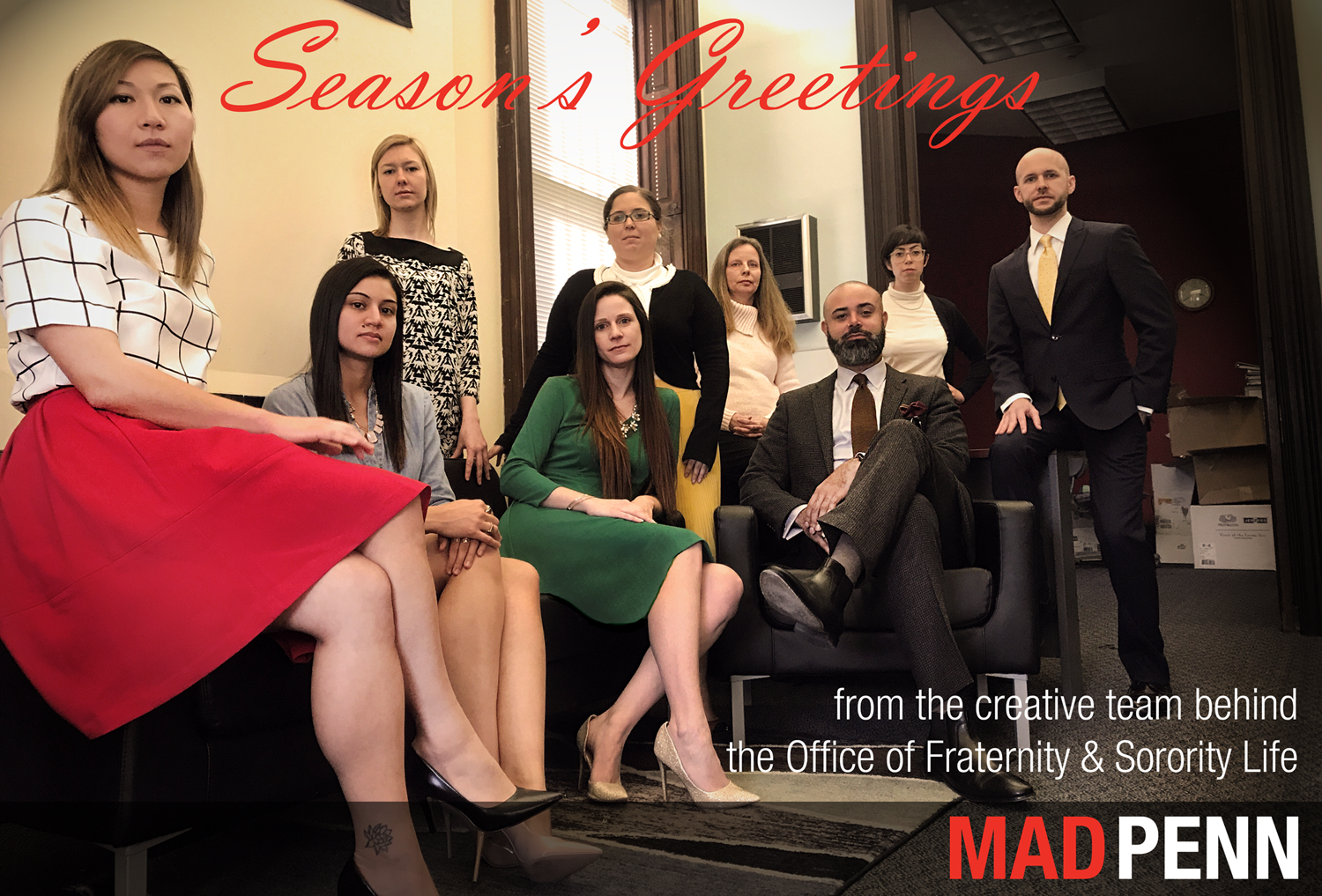 OFSL Holiday Card 2017 - Mad Penn