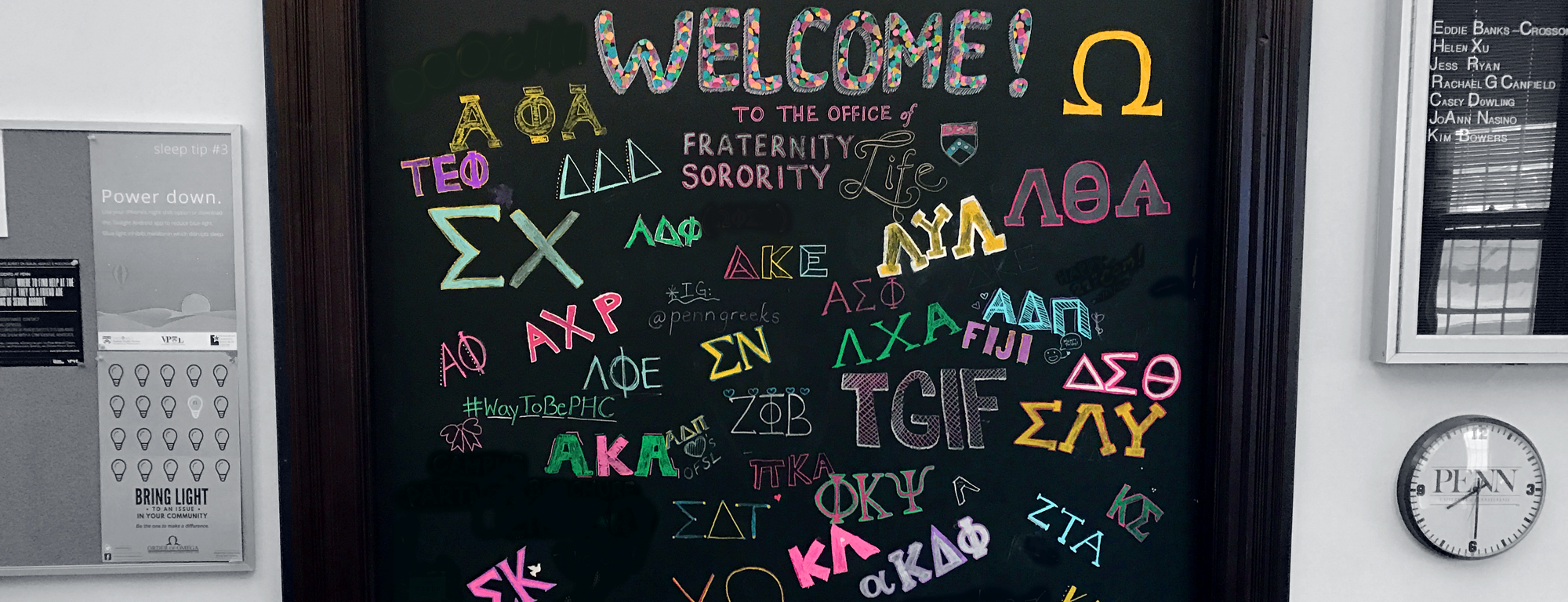 Office of Fraternity and Sorority Life - Chapters at Penn
